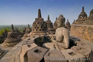 Świątynie Borobudur i Prambanan