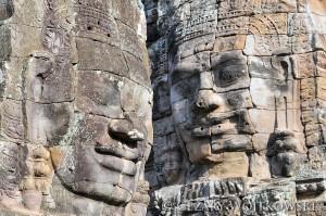 Angkor Wat, Angkor Thom i Ta Prohm