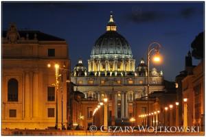 Bazylika Świętego Piotra w WATYKANIE