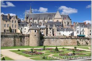Mury miejskie w Vannse Bretania FRANCJA