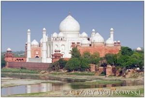 Tadź Mahal w Agrze INDIE
