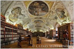 Biblioteka w Klasztorze na Strahowie w Pradze CZECHY