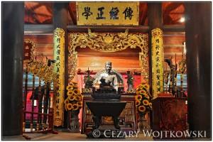 Świątynia Literatury w Hanoi WIETNAM