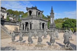 Grobowiec Cesarza Khải Định w Hue WIETNAM