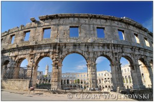 Amfiteatr rzymski w Puli CHORWACJA
