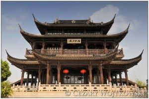 Pawilon w Suzhou CHINY