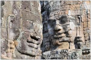 Świątynia Bayon KAMBOŻA
