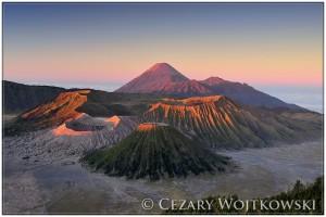 Aktywny Wulkan Bromo INDONEZJA