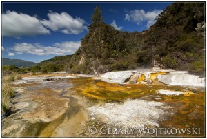 Waiotapu Thermal Wonderland NOWA ZELANDIA