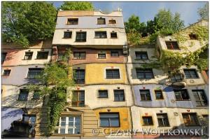 Kompleks mieszkalny Hundertwasserhaus w Wiedniu AUSTRIA