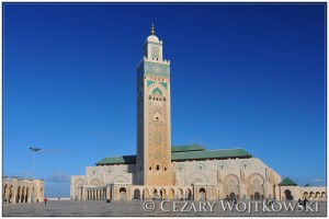 Meczet Hasana II w Casablance MAROKO