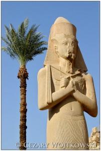 Posąg Ramzesa II w Karnaku EGIPT