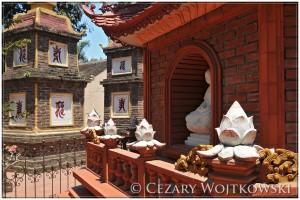 Pagoda Trấn Quốc w Hanoi WIETNAM