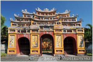 Zakazane purpurowe miasto w Hue WIETNAM