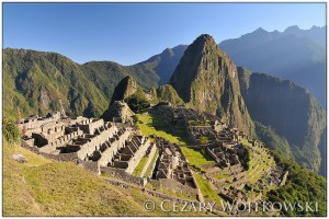 Zabytkowe sanktuarium Machu Picchu PERU