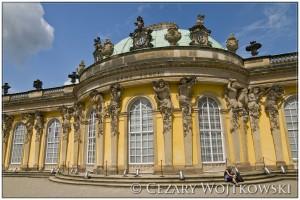 Pałac Sanssouci w Poczdamie NIEMCY