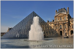 Paryski Luwr FRANCJA