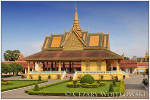 Pałac Królewski w Phnom Penh KAMBOŻA