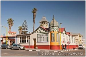 Budynek kolonialny w Swakopmund NAMIBIA