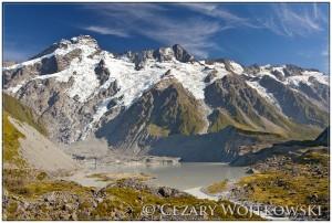 Park Narodowy Góry Cooka NOWA ZELANDIA