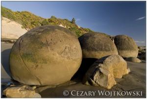 Moeraki Boulders NOWA ZELANDIA