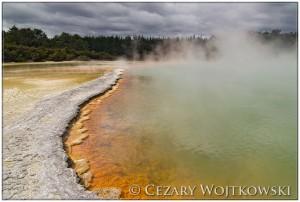 Champagne Pool, Waiotapu Thermal Wonderland NOWA ZELANDIA